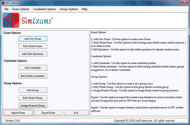 Export Exam Setp 4